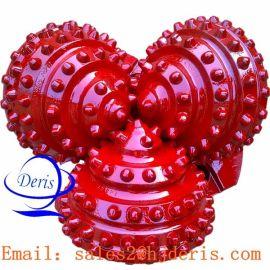 江汉HJ537 12 寸 镶齿石油牙轮钻头