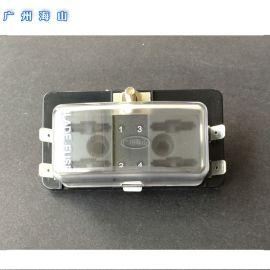汽车保险丝盒 台湾进口保险丝插座 4路4档汽车改装用品