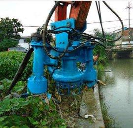 挖机清淤泵、挖机耐磨抽沙泵