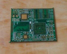 广大电路板工厂生产多层PCB沉金板、多层半孔电路板、PCB来图来样加工