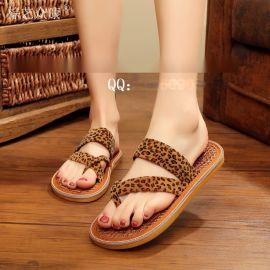 棕艺众康棕丝鞋加盟批发 纯手工 休闲时尚 女式凉拖鞋 保健鞋