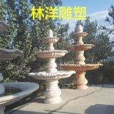 廠家直銷園林雕塑 晚霞紅石雕噴泉