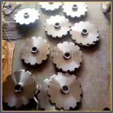 鏈條傳動雙排鏈輪 不鏽鋼工業淬火鏈輪加工 鏈輪規格