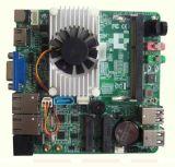 迷你超薄Nano ITX 主板工控主板 J1900U 微型主板 12*12cm 雙顯示
