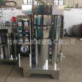小型商用立式液压榨油机 花生芝麻液压香油机 流动车载榨油机
