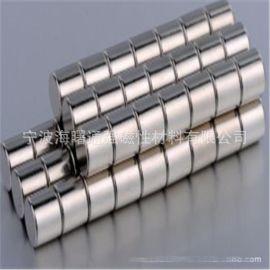 稀土永磁 钕铁硼强力磁铁强磁圆形磁铁石镀镍磁铁