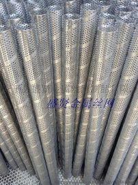 专业生产不锈钢圆孔网螺旋管