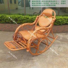 心形扭手躺椅,老人午休休闲椅子
