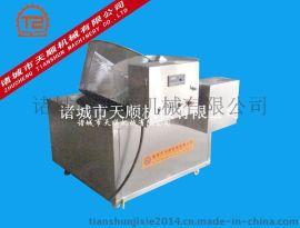 玉米粒油水混合油炸设备 玉米粒油炸机械设备