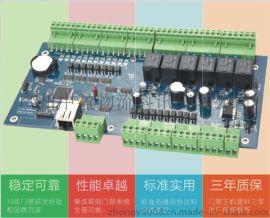 廣州廠家供應網路型四門單向門禁一體機門禁控制器