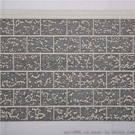 粗砖纹聚氨酯/聚苯外墙金属雕花装饰保温板 防水保温轻质抗震 环保美观