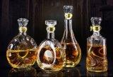 玻璃紅酒瓶密封鑽石自釀酒瓶圓形方形酒瓶