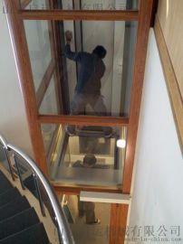 启运 家用小型电梯 二层三层别墅电梯 室内室外电梯 家用阁楼液压电梯