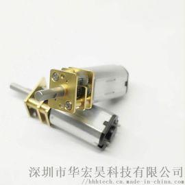12GA-N30微型直流减速电机机器人智能门锁电机