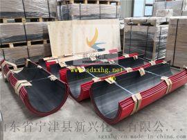 双色螺旋输送机耐磨衬板 聚乙烯折弯板