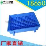 電池包裝塑料盒 18650高腳耐高溫物料盒PP環保