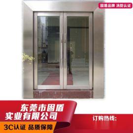 广东不锈钢防火门厂生产不锈钢玻璃防火门成为行业标杆