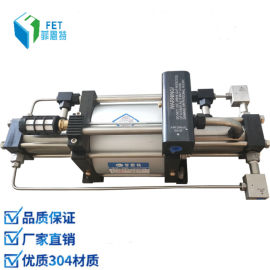 高压气体回收泵 氦气回收增压机 无电控制