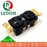 純銅鍍金音響插座 日本古河音響濾波器插座
