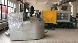 350KG燃气式坩埚熔铝炉 配压铸机熔炼炉
