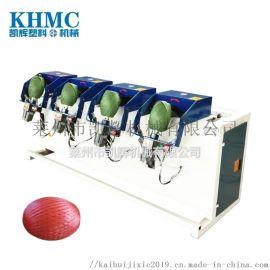 多锭线绳打球机 棉线塑料绳打球机 记米记重打球机