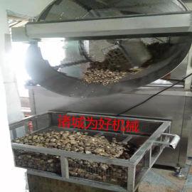 长沙臭豆腐燃煤油炸机