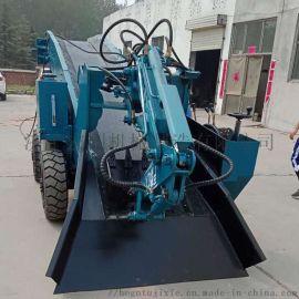 50小型耙渣机 柴电两用扒渣机 新型矿用装渣机