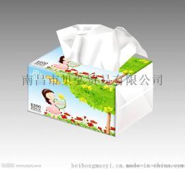 上饶盒抽纸免费设计广告盒抽纸定制专业快速3-5天出货