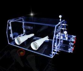 有机玻璃亚克力手套箱 有机玻璃简易手套箱 化学实验室操作保护箱