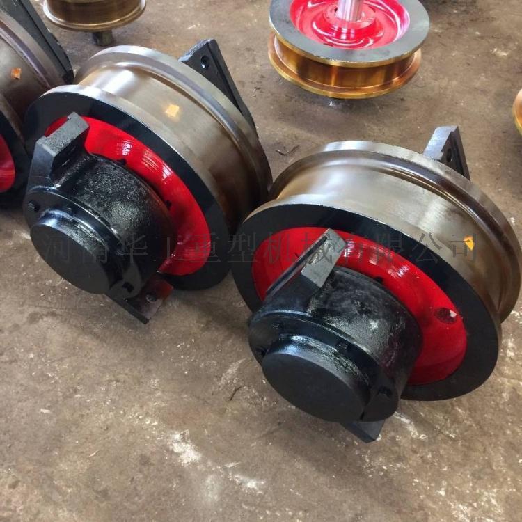 卖车轮组销量好的厂家 φ700*160被动车轮组 双边轮 台车车轮组 大车运行机构专用车轮组 矿山机械用车轮组