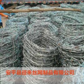 热镀锌刺绳,铁丝网刺绳,正反拧刺绳