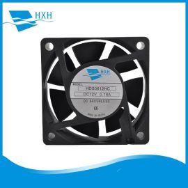 生产UPS电源风扇逆变器电源风扇60*60*20MM直流HDH0612EC风扇