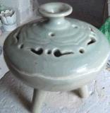 陶瓷香爐直銷批發價格圖片訂制瓷器香薰爐定做瓷器三足爐佛像加工