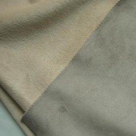 麂皮绒鸡皮绒经编涤纶化纤面料