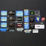 定製電池不乾膠電腦電子不乾膠標籤黑色PVC貼紙商標logo印刷標籤