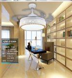 福港现代led风扇灯 家居卧室客厅书房隐形风扇灯厂家直销