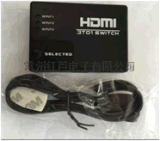 HDMI 三切一切换器 1080P 4K