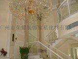 廣州別墅樓梯扶手 會所鐵藝欄杆 別墅室梯欄