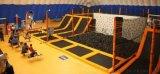 直销室内超级大健身蹦床组合成人蹦床公园 魔鬼滑梯