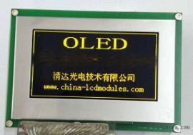 240128绿字OLED 3.37寸OLED显示屏