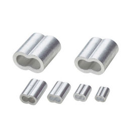 6063鋁管鋁套,鋼絲繩用八8字型鋁套