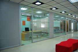 无锡玻璃隔断无锡铝合金双玻百叶高隔间尺寸