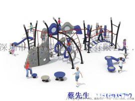大型玩具   组合滑梯  健身器材