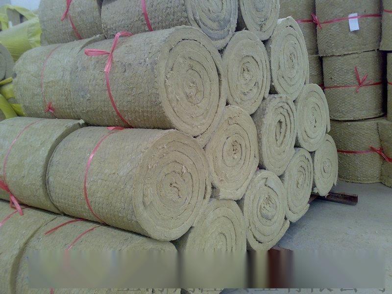 金属网岩棉毡  樱花岩棉 工业用岩棉