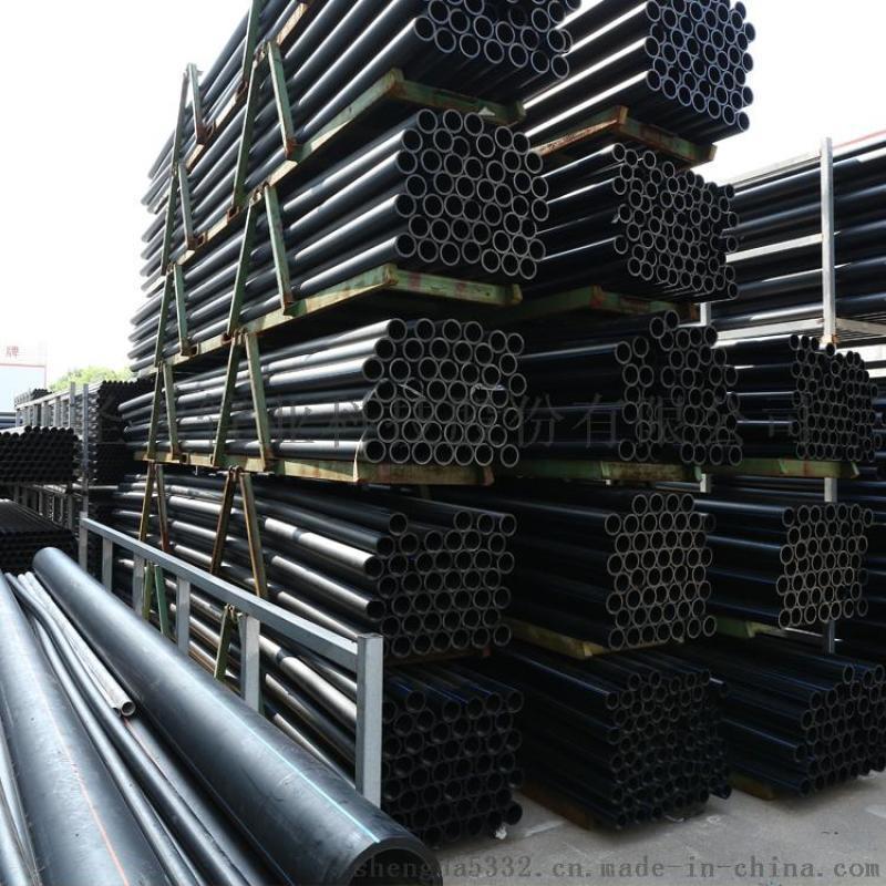 供应呼和浩特大口径地埋PE环保管材厂家圣大管业