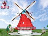 德陽風車廠家,實木風車設計定製安裝