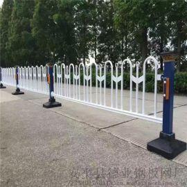 城市交通防护栏杆 京式道路中间护栏 车道防撞栅栏