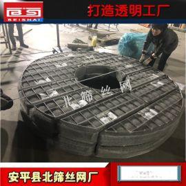 生产上下装式丝网除沫器的厂家 不锈钢丝网除雾器