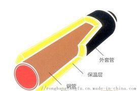 山东蒸汽保温管,热水玻璃棉缠绕保温管道
