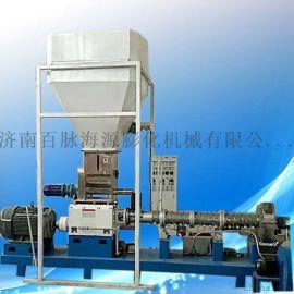 双螺杆膨化机  膨化玉米饲料机 玉米生产加工设备